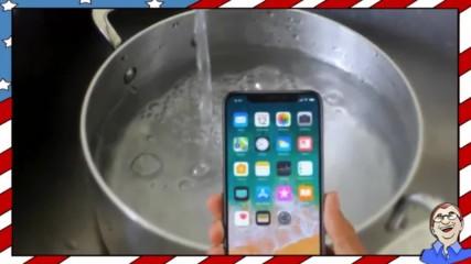 Водоустойчив ли е Iphone X - Тест