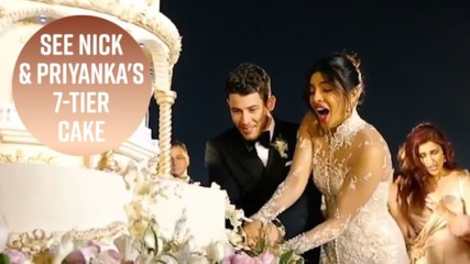 Nick & Priyanka's wedding cake was an actual palace