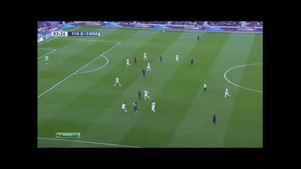 21.2.2015 Барселона-малага 0-1 Ла Лига