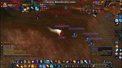 Wow fire mage vs arams warrior duels