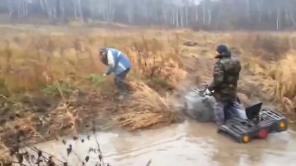 Това само един руснак може да го направи- гледайте!