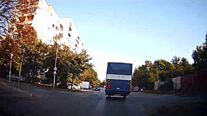 Отнемане на предимство от камион