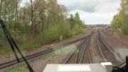 Пътуване в кабината на легендарните руски локомотиви в германските железници!