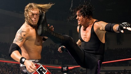 The Undertaker vs. Edge – World Heavyweight Title TLC Match: One Night Stand 2008 (Full Match)