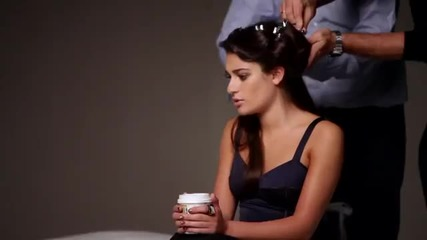 Behind the Scenes with Lea Michele for L'oreal Paris Advanced Haircare