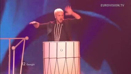 Грузия / Anri Jokhadze - I'm A Joker / Live - Евровизия 2012
