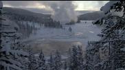 Зимата в Йелоустоун