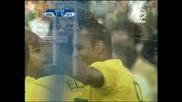 15.06 Бразилия - Египет 4:3 Кака гол ! Купа на Кофнедерациите