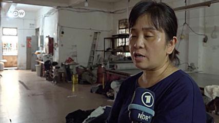 Кризата вече ударя и обикновените хора в Китай