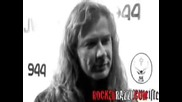 Dave Mustaine Interview at Scott Weilands Release Party