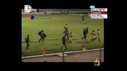 Как в Бразилия спират боя във футбола - смях - Господари на Ефира 08.04.2010
