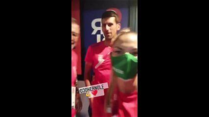 Джокович към всички българи: Всичко добро!