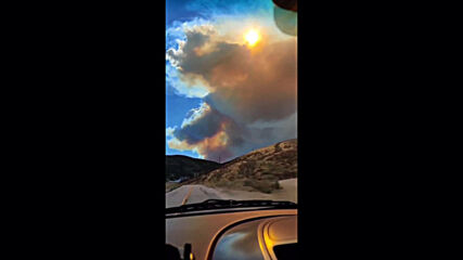 USA: Lake Hughes wildfire consumes more than 40 sq km