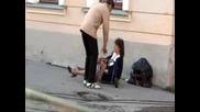 Жена Пияна Като Казак
