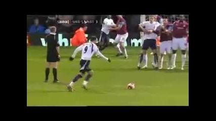 Berbatov Free Kick vs. West Ham United