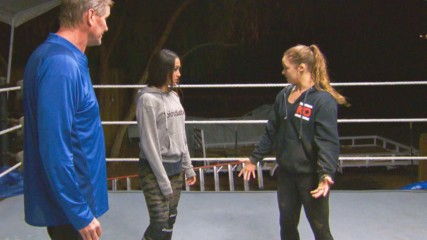 Nikki Bella trains with Ronda Rousey: Total Bellas, Feb. 10, 2019