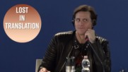 Jim Carrey calls his interpreter insane