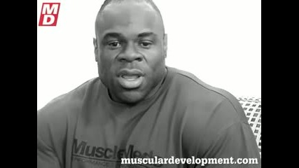 Kai Greene After the 2009 Olympia