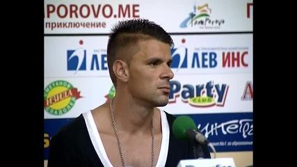 Илиев: ЦСКА няма как да е прелистена страница за мен