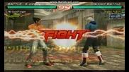 Tekken 6 -геймплей с Kazuya Mishima част първа
