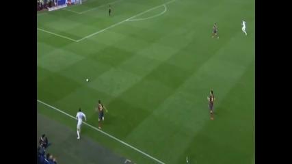 гол на Грет Бейл срещу Барселона