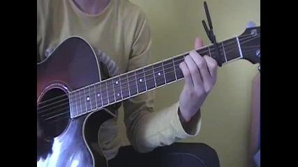 China Anne Mcclain - Dynamite - на акустична китара