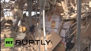 Yemen: Houti-occupied naval base flattened after night of Saudi airstrikes