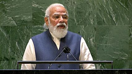 UN: 'Essential to ensure that Afghanistan isn't used to spread terrorism' - Modi during UNGA