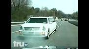 Лимузина се опитва да избяга от полицията