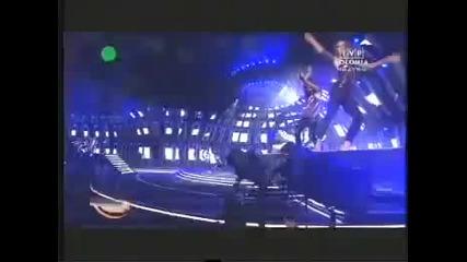 Inna прави страхотно шоу в Полша Live