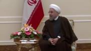 Iran: EU's Mogherini meets Rouhani to talk Syrian conflict