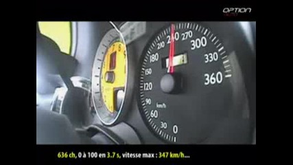 Ferrari F430 Novitec - Ускорение