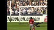 Fifa 2005 gameplay - Chelsea vs. Man Utd Hq