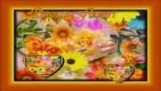 Оранжеви цветя ... ...