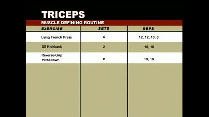 Arms - Muscle and Fitness