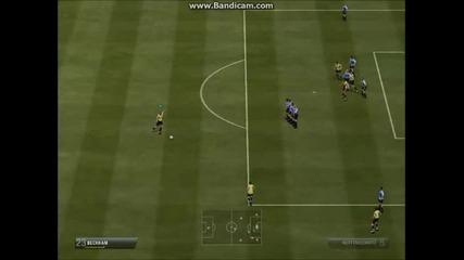 Beckham Free Kick 26 Yds Fifa 13