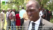 Kenyan Students March In Honor Of University Massacre Victims