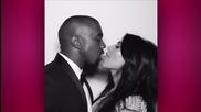 Kim Kardashian & Kanye West Celebrate 1st Anniversary