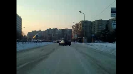 Opel Omega 2.0 - Winter Drift