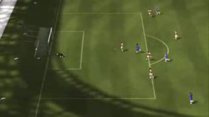 Fifa 09 Chelsea Vs Arsenal Gameplay Part1