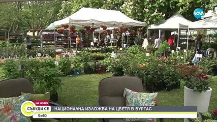 Национална изложба на цветя в Бургас