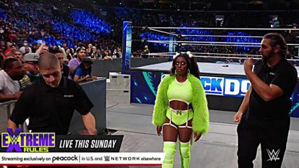 Sonya Deville has security escort Naomi away: SmackDown, Sept. 24, 2021