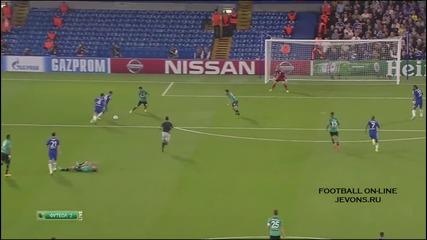 Челси - Шалке 1:1 |17.09.2014| Шампионска лига