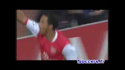 Арсенал - Славия Прага 5:0 Тео Уолкот