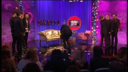One Direction - Интервю с Алън Кар в Chatty Man