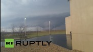 USA: See huge TORNADO tearing through Illinois
