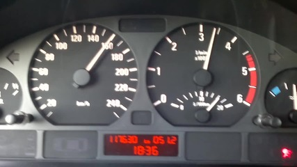 Bmw 320d 200km/h