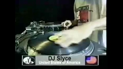 Dmc World 1997 Dj Slyce (usa) U Can t Touch This Routine