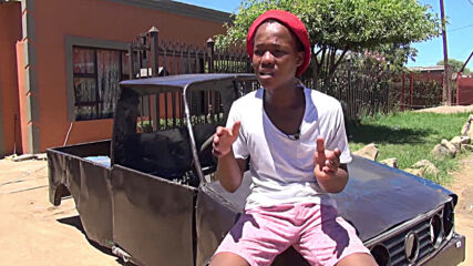South African teen builds his own car from scrap metal and spare parts