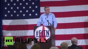 """Джеб Буш: """"Враговете ни трябва да се страхуват, за да бъде светът безопасно място"""""""
